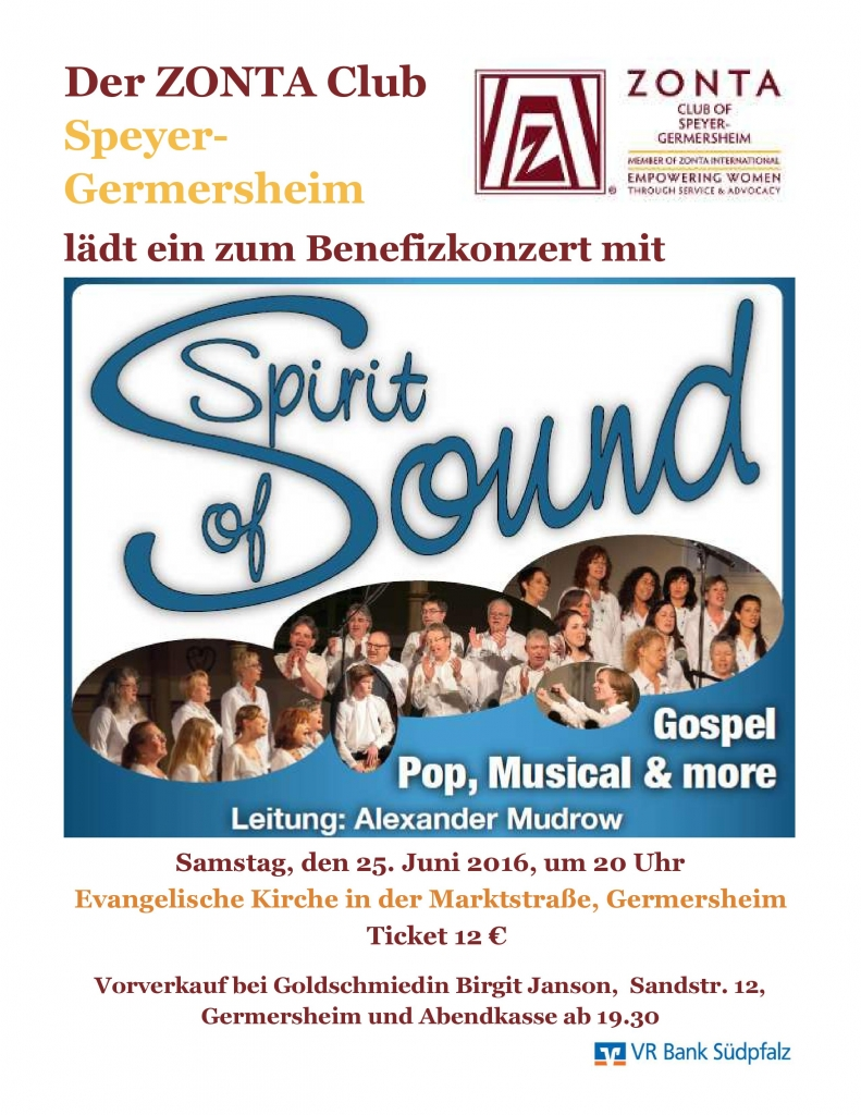 Spirit of Sound Konzert