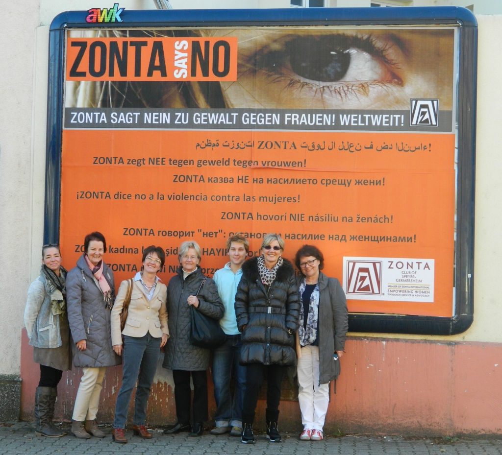 Zonta Says No - Plakat